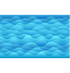 blue sea tropical background vector image