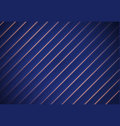Blue striped background paper overlap vector