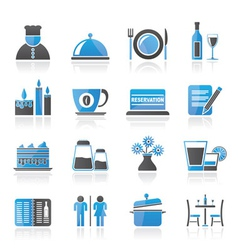 cafe and bar icon vector image