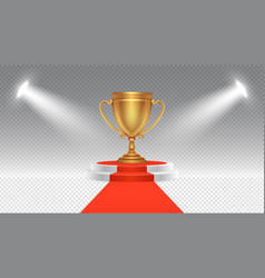 competition award victory podium sport or vector image