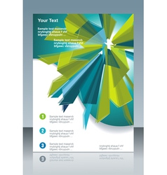 Modern Poster Template vector image