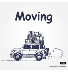 Moving vector
