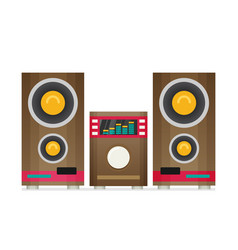 music center flat vector image