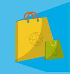 Online shopping and marketing vector