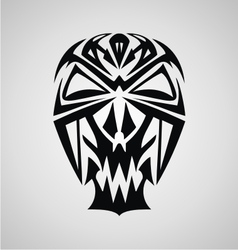 Skulls Tribal vector image