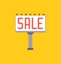 Sale billboard vector