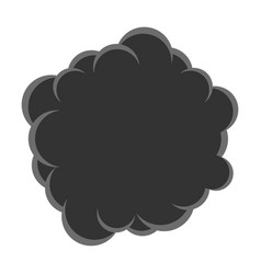 cloud smoke pollution vector image