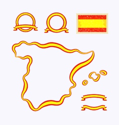 Colors of Spain vector