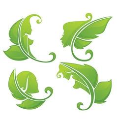 eco beauty vector image