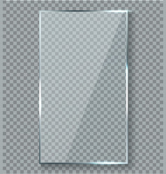 Glossy reflection effect transparency window vector