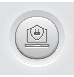 Internet Security Icon vector image