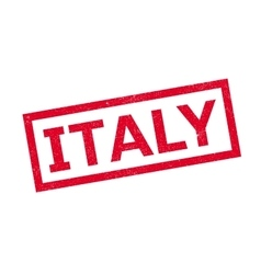 Italy rubber stamp vector image