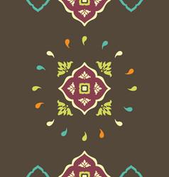 Pattern of kazakhstan vector