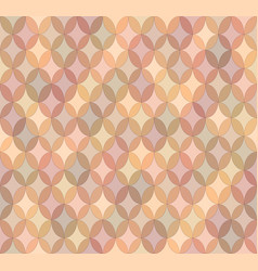 seamless light brown abstract pattern vector image