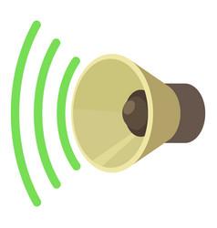 Sound on icon cartoon style vector