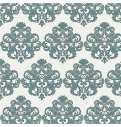 Damask royal ornament pattern vector image