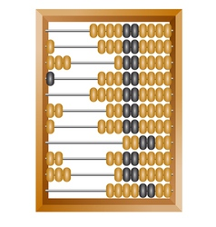Accounting abacus vector