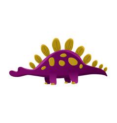 dinosaur baboy cute print sweet dino cool vector image