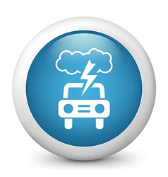 Driving Weather Forecast Icon vector image vector image