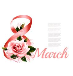 International women day celebration holiday vector