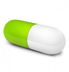Pill illustration vector