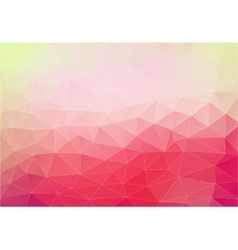 Pink background with triangles shapes vector