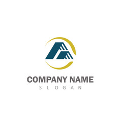 roof company logo vector image