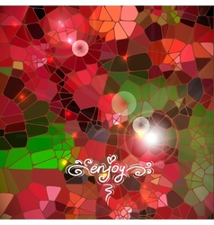 Abstract colorful shining circle background vector