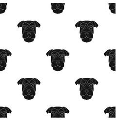 A breed of a dog a risen schnauzerrisen vector