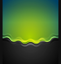 abstract contrast wavy background vector image vector image