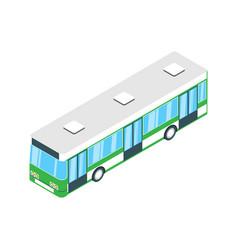 Airport bus icon vector