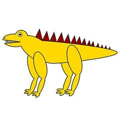 Dinosaur icon vector