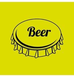 Fresh beer design vector