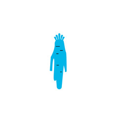 horseradish icon colored symbol premium quality vector image