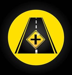 Road infographics vector