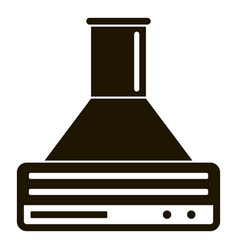 smart air cooker icon simple style vector image