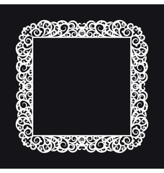 square frame vector image