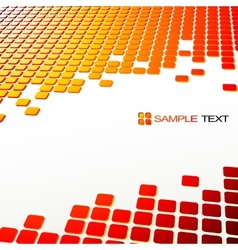 Squares abstract background vector image