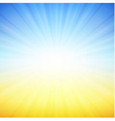 blue and yellow background vector image