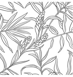 ginger seamless pattern vector image