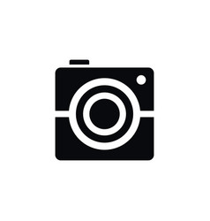 Isolated photography icon photocamera vector