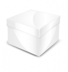 Packaged box vector