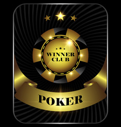 poker5 vector image