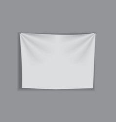 white curtain fabric for backgrounds mesh vector image