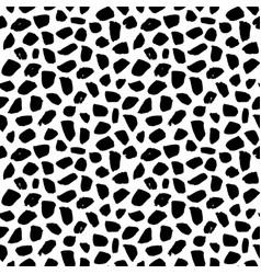 seamless pattern grunge brush stroke vector image