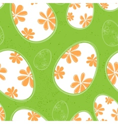 easter seamless background vector image
