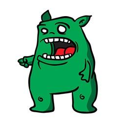 Green monster 1 vector