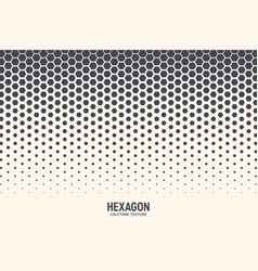 hexagon abstract technology background vector image