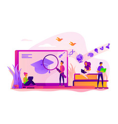 Learning concept vector