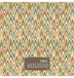 Retro seamless pattern arrows background vector image